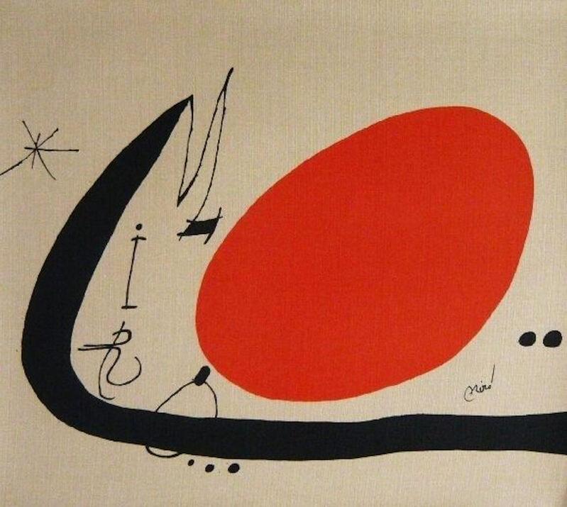 Joan Miró, 'Ma de Proverbis', 1970, Print, Original color lithograph on canvas, Samhart Gallery