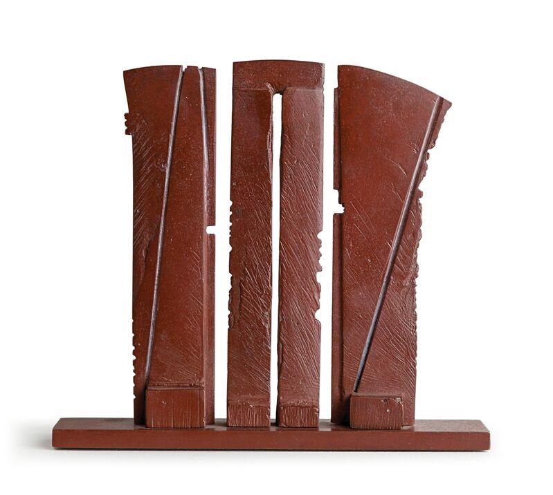 Ann Christopher, 'Red Line', 2013, Sculpture, Bronze, Rosenberg & Co.