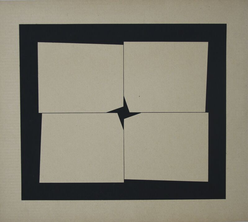 Hélio Oiticica, 'Metaesquema', Painting, Gouache on Paper, Graphos