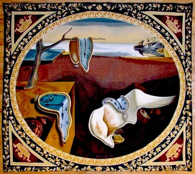 Salvador Dalí, 'Persistence of Memory Tapestry', 1975, Textile Arts, Woven Tapestry, Fine Art Acquisitions Dali