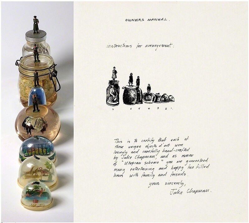 Jake Chapman, 'Utopian Scheme', 1988, Sculpture, Mixed media, Artificial Gallery