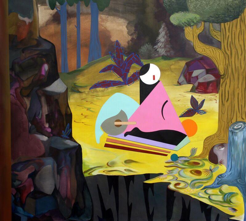 Adriana Minoliti, 'De la serie Playground No. 2', 2015, Painting, Acrylic on canvas, Diablo Rosso