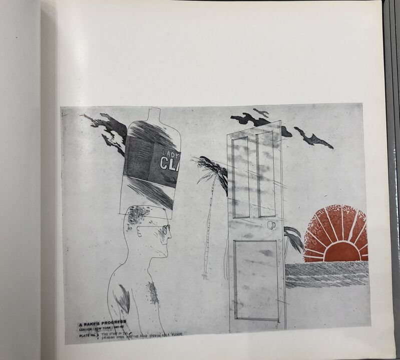 David Hockney, 'A Rakes Progress', 1962, Books and Portfolios, Book, Mr & Mrs Clark's