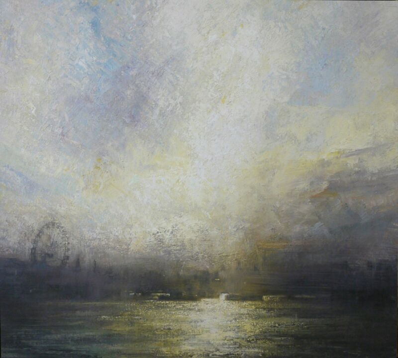 Benjamin Warner, 'The Thames', 2016, Painting, Oil on canvas, Tanya Baxter Contemporary