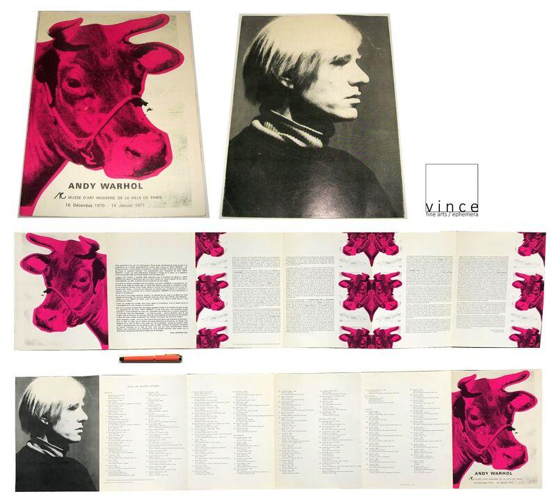 """Andy Warhol, '""""Andy Warhol"""", 1971, Exhibition Brochure/Catalogue, Musee D'art de la Ville de Paris, LARGE', 1971, Ephemera or Merchandise, Lithograph, VINCE fine arts/ephemera"""