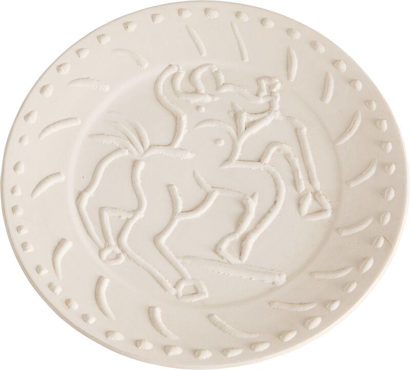 Pablo Picasso, 'Centaure', 1956, Design/Decorative Art, Terre de faïence plate, Heritage Auctions