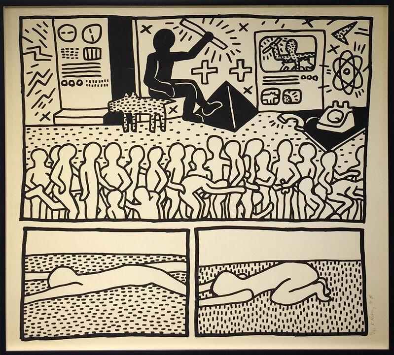 Keith Haring, 'The Blueprint Drawings 15', 1990, Print, Screenprint, Rago/Wright