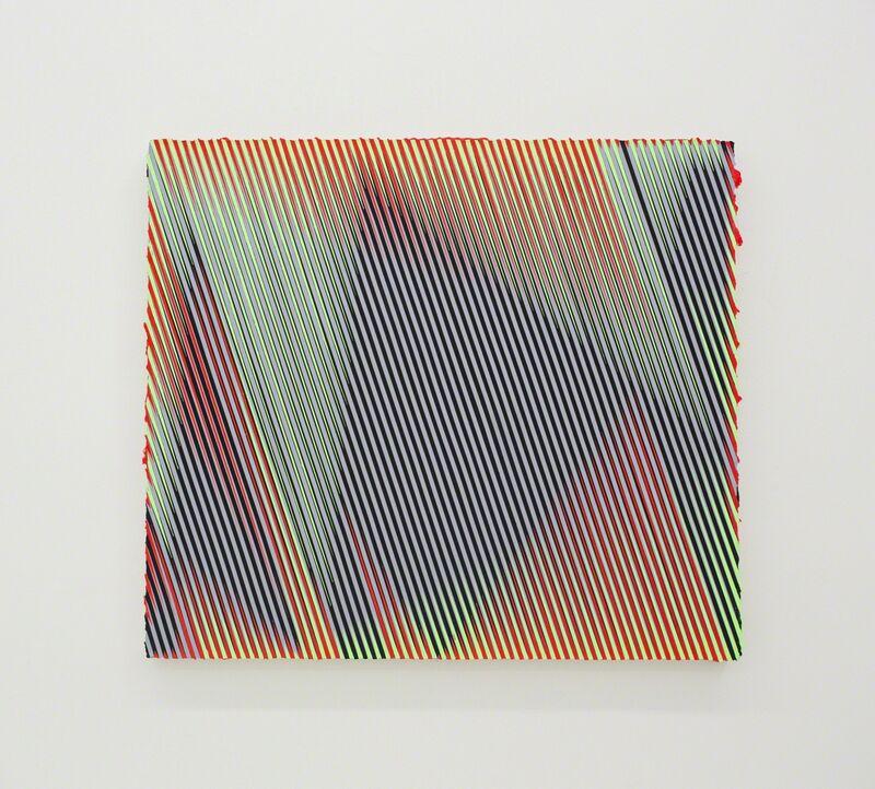 Palma Blank, 'GRY/BLK_GRN/RD', 2015, Painting, Acrylic on canvas, The Hole