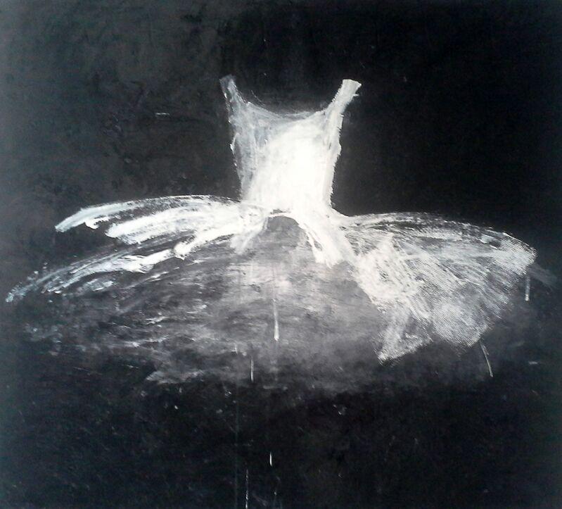 Ewa Bathelier, 'White Dress', 2014, Painting, Acrylic on Fabric, Galleria Ca' d'Oro