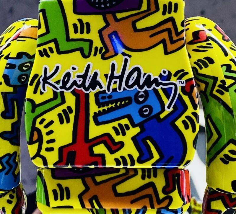 Keith Haring, 'Keith Haring Bearbrick 400% Companion (Haring BE@RBRICK)', 2020, Sculpture, Vinyl Figurine, Lot 180