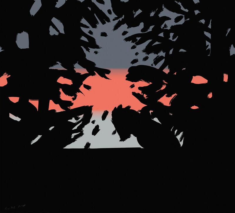 Alex Katz, 'Sunset 2', 2020, Print, Archival pigment ink on Innova Etching Cotton Rag 315 gsm fine art paper, New Art Editions