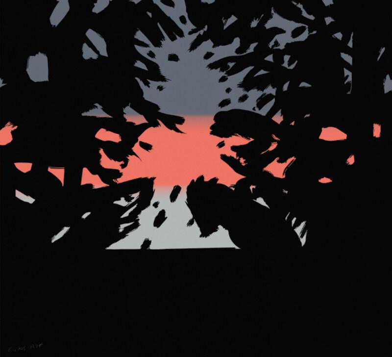 Alex Katz, 'Alex Katz, Sunset 2', 2020, Print, Archival pigment ink on paper, Oliver Cole Gallery