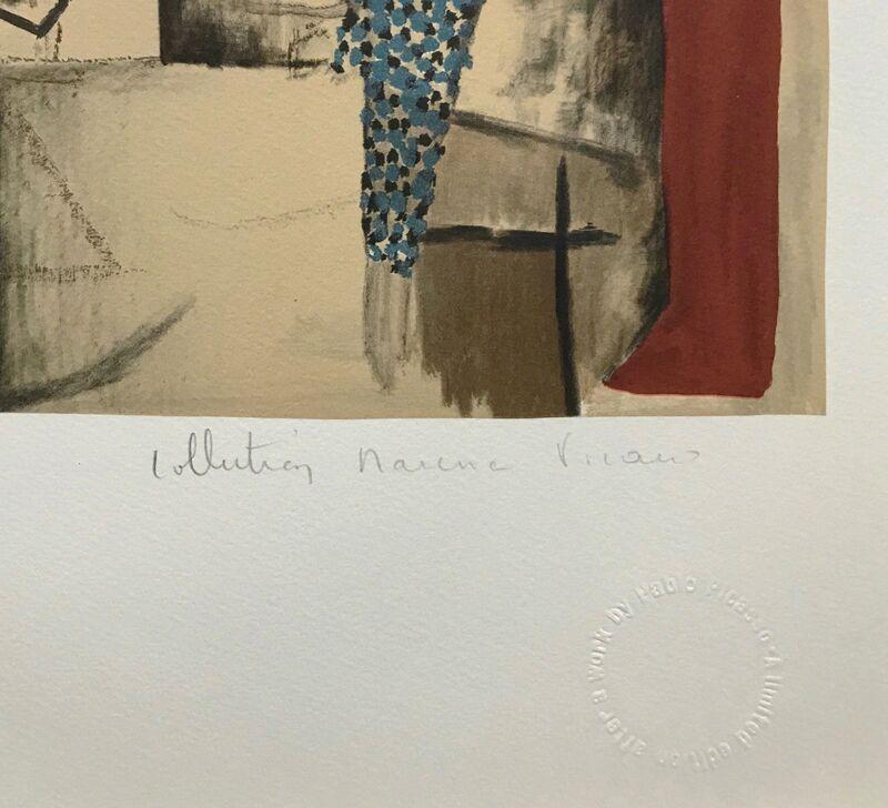 Pablo Picasso, 'VISAGE SUR FOND ROUGE', 1979-1982, Reproduction, LITHOGRAPH ON ARCHES PAPER, Gallery Art