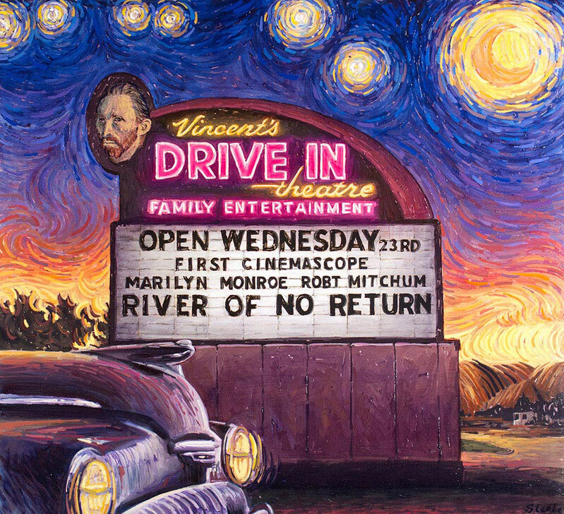 Ben Steele, 'Vincent's Drive In', Painting, Oil on canvas, CODA Gallery