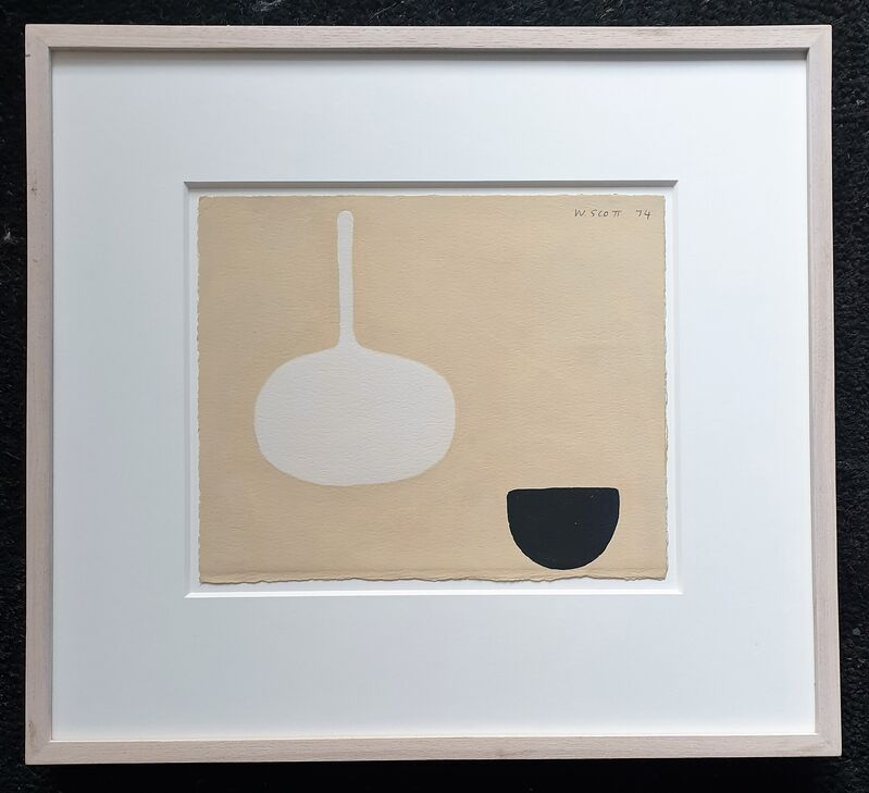 William Scott (1913-1989), 'Untitled1974', 1974, Painting, Gouache, Tanya Baxter Contemporary