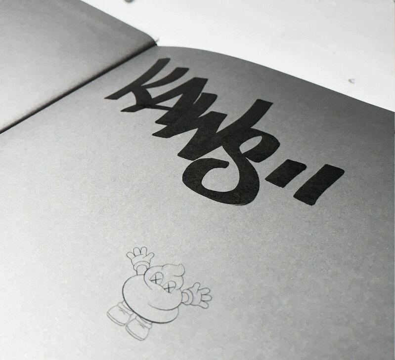 "KAWS, '""KAWS"", 2010, Signed / Tagged (rare without dedication), 1st Edition, MINT', 2010, Ephemera or Merchandise, Lithograph on paper, VINCE fine arts/ephemera"