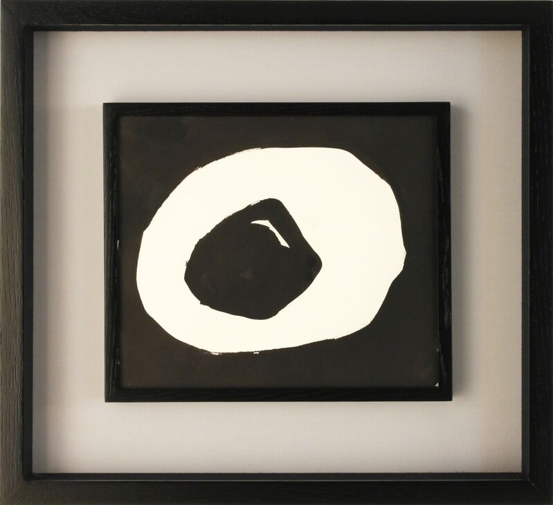Jiro Yoshihara, 'Circle', ca. 1965, Painting, Ink on paper, MAKI