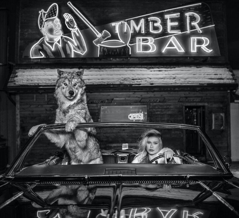 David Yarrow, 'Coyote Ugly', 2019, Photography, Digital Pigment Print on Archival 315gsm Hahnemuhle Photo Rag Baryta Paper, Samuel Owen Gallery