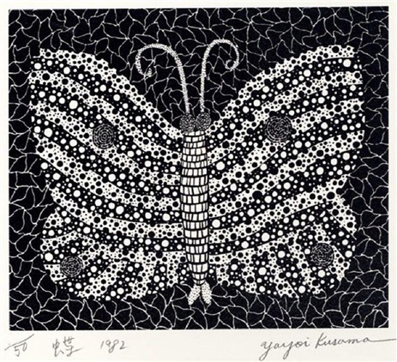 Yayoi Kusama, 'Butterfly (Kusama 18)', 1982, Print, Silkscreen, Lougher Contemporary
