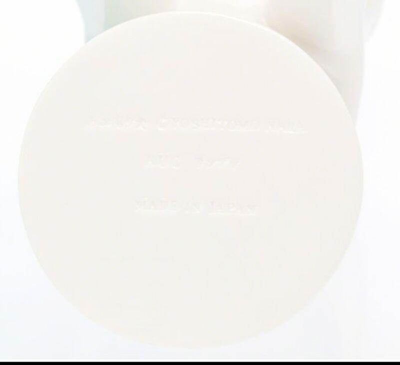 Yoshitomo Nara, 'Aomori-Ken Dog Bank (White)', 2017, Sculpture, Limited Edition Cast Vinyl. Stamped on Underside. and in original vinyl., Alpha 137 Gallery