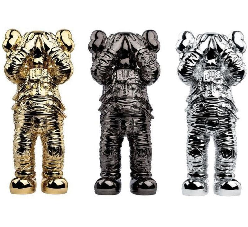 KAWS, 'KAWS SPACE HOLIDAY SET GOLD, BLACK, SILVER Contemporary Street Art ', 2020, Sculpture, Polyurethane Figure, New Union Gallery
