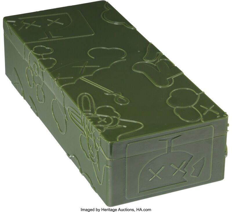 KAWS, 'Bendy (Green)', 2003, Sculpture, Paint cast vinyl, Heritage Auctions