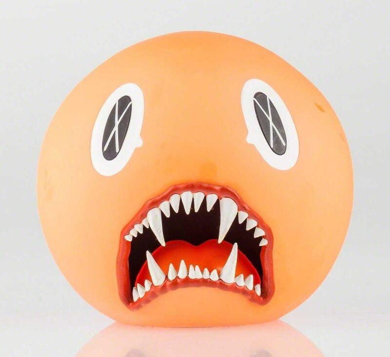 KAWS, 'Cat Teeth Bank (Orange)', 2007, Sculpture, Painted Cast Vinyl Figure, Lougher Contemporary