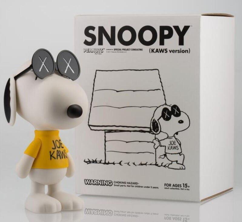 KAWS, 'KAWS X Peanuts Joe KAWS (Snoopy)', 2012, Sculpture, Painted cast vinyl, Lougher Contemporary