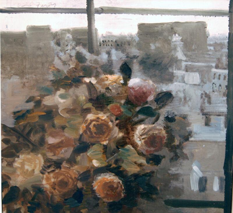 David Fertig, 'Paris 1815', 2009, Painting, Oil on  masonite, Paul Thiebaud Gallery