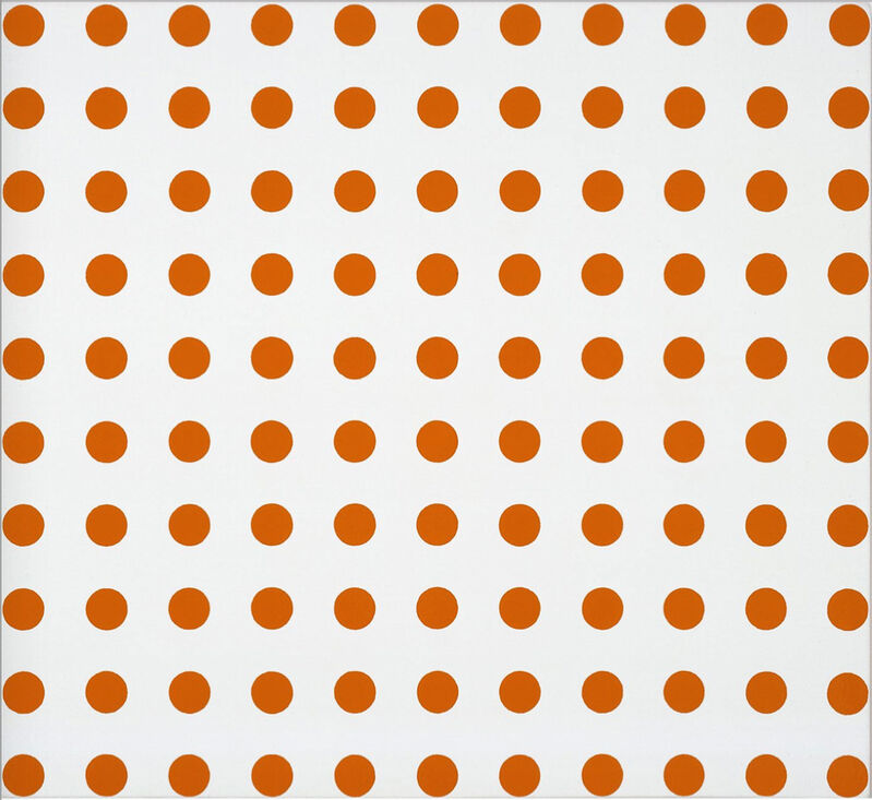 Damien Hirst, 'Dicaprion (Orange Spots)', 2007, Painting, Household gloss on canvas, Dallas Collectors Club