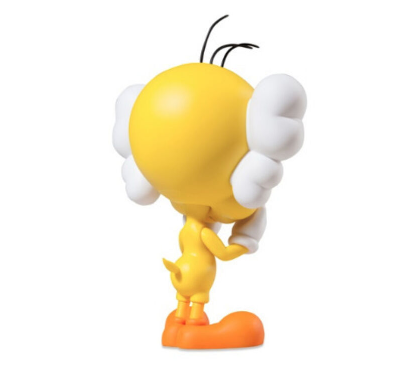 KAWS, 'Tweety (Yellow)', 2010, Sculpture, Painted cast vinyl, Lougher Contemporary