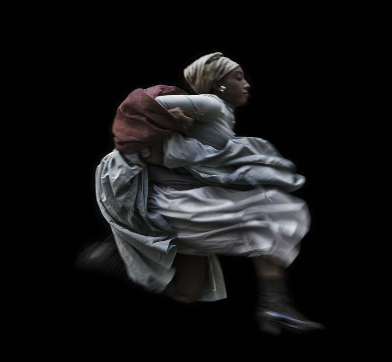 Ayana V. Jackson, 'Wild as the Wind', 2015, Photography, Archival pigment print on German Etching, The Studio Museum in Harlem