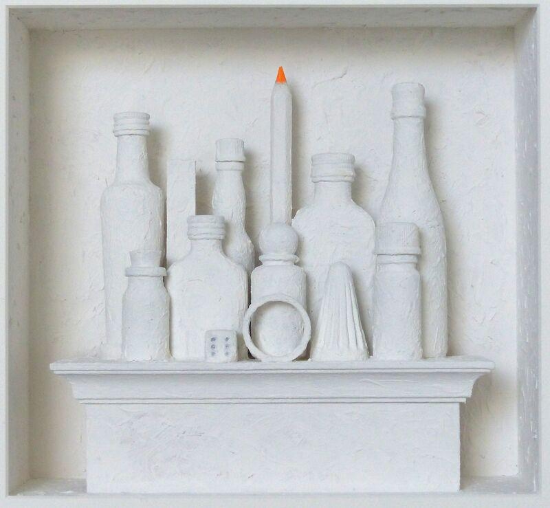 Volker Kühn, 'Homage to Morandi ', Mixed Media, Mixed media, Plus One Gallery