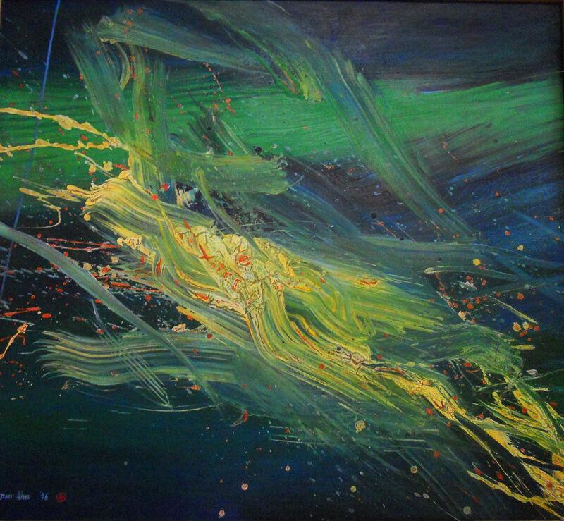 Don Ahn, 'Spirit', 1996, Painting, Acrylic on canvas, Walter Wickiser Gallery
