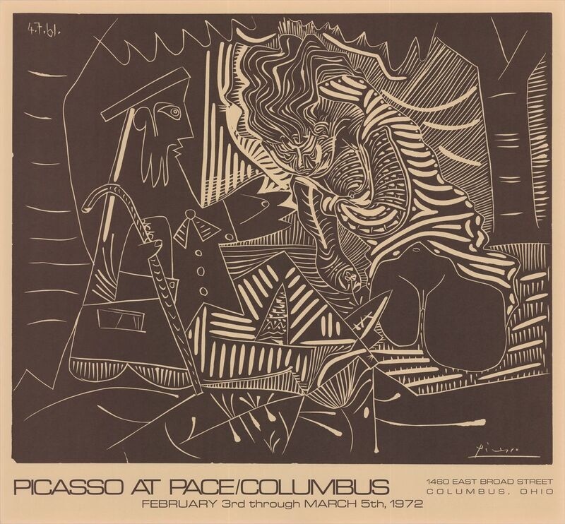 Pablo Picasso, 'Luncheon on the Grass', 1972, Ephemera or Merchandise, Stone Lithograph, ArtWise