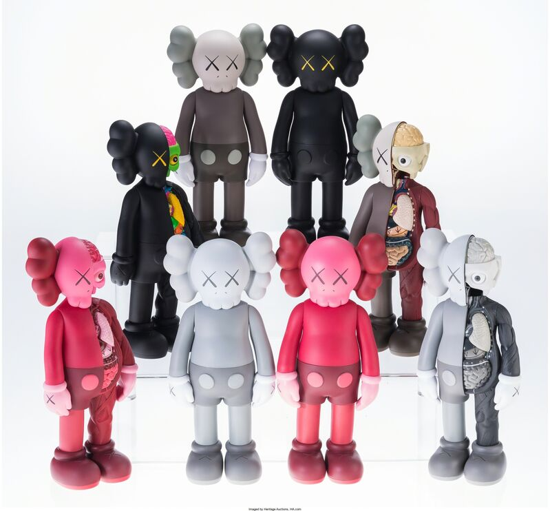 KAWS, 'Companions (Open Edition) (Set of 8)', 2016, Other, Painted cast vinyl, Heritage Auctions