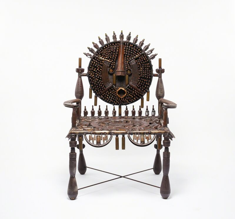 Gonçalo Mabunda, 'Untiled (throne)', 2017, Sculpture, Decommissioned arms, Jack Bell Gallery
