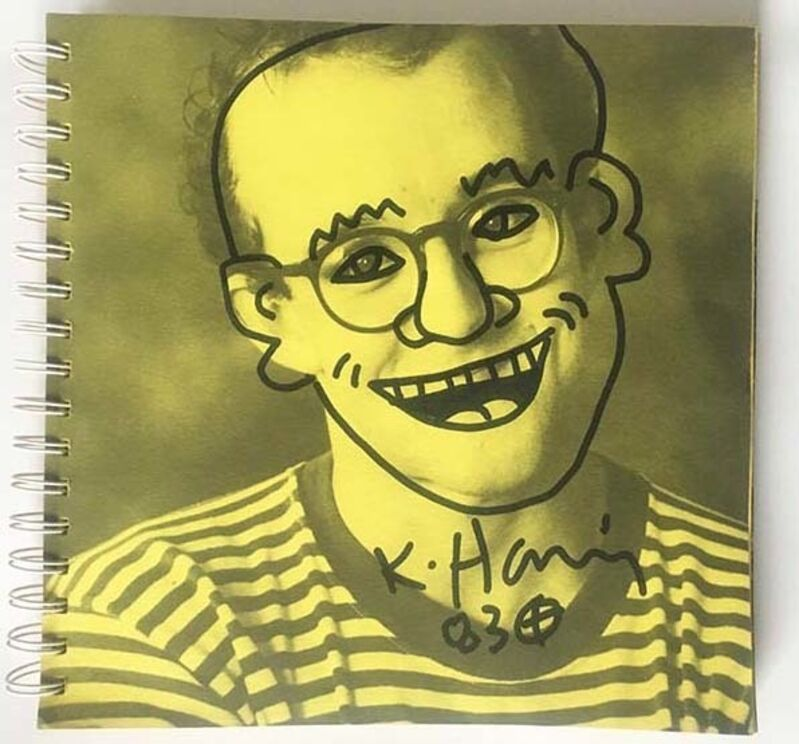 Keith Haring, '1983, Tony Shafrazi exhibit catalogue', 1983, Ephemera or Merchandise, Printed matter, Gallery 52