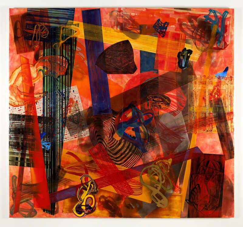 Frank Owen, 'Chime', 2014, Painting, Acrylic on canvas, Nancy Hoffman Gallery