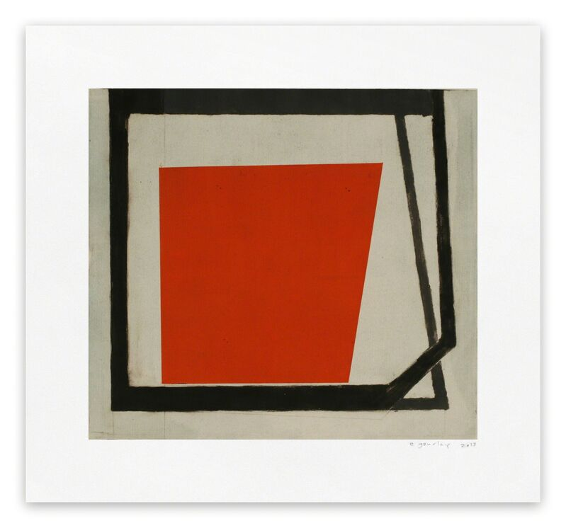 Elizabeth Gourlay, 'Winter Tulip 2 (Abstract print)', 2013, Print, Monotype, IdeelArt
