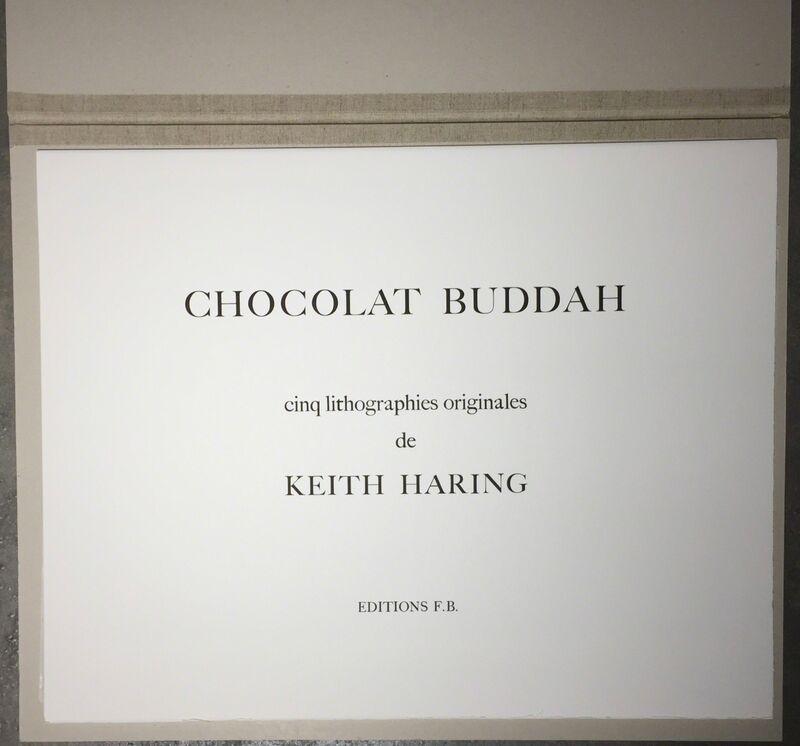 Keith Haring, 'Chocolate Buddha (Complete Suite)', 1989, Print, Lithograph, Joseph Fine Art LONDON