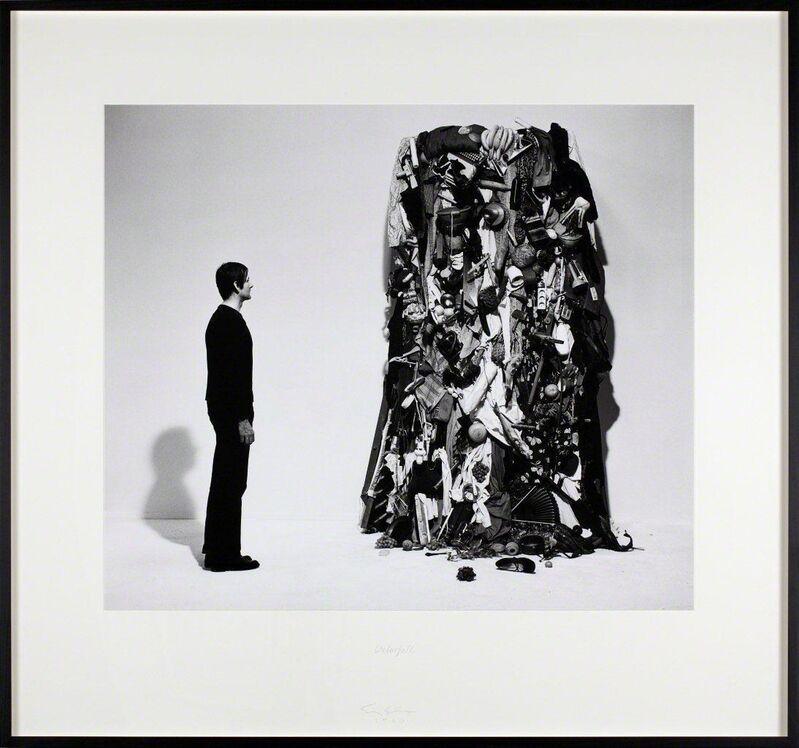 Sigurdur Gudmundsson, 'Waterfall', 1980, Photography, Silverprint on fiberbased paper, text, i8 Gallery