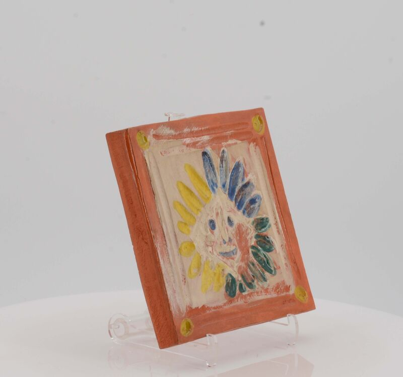 Pablo Picasso, 'Small indian', 1968, Design/Decorative Art, Red earthenware clay, polychromed and partially galzed, Van Ham