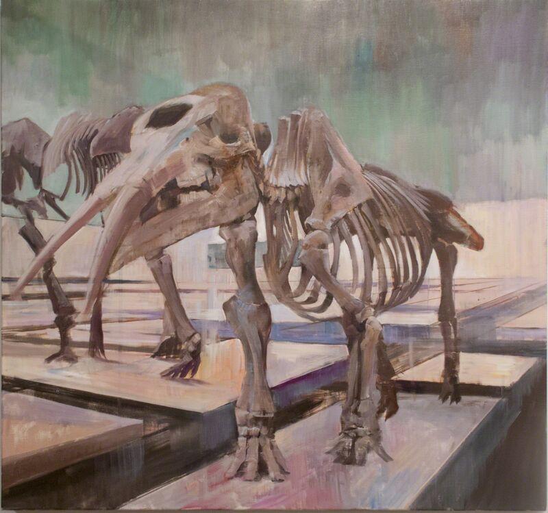 Adam Cvijanovic, 'Mastodon,', 2012, Painting, Oil on canvas, Postmasters Gallery