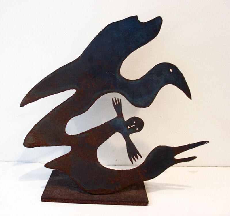 Menashe Kadishman, 'Untitled', 1989, Sculpture, Steel, Nohra Haime Gallery
