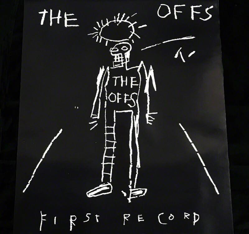 Jean-Michel Basquiat, 'Basquiat, The Offs ', 1984, Posters, Off-set lithograph, Lot 180