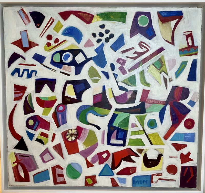 Howard Daum, 'Composition #321, circa 1960's', ca.  1960's, Painting, Oil canvas, Rosenfeld Gallery LLC