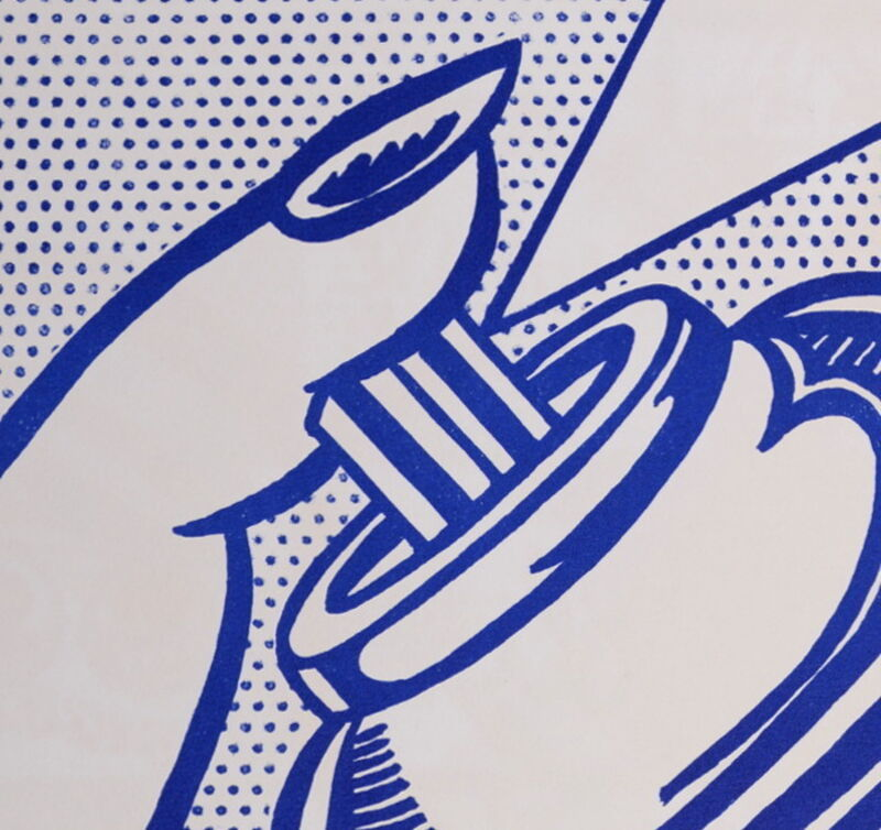 Roy Lichtenstein, 'Spray Can (1 cent life), 1964', 1964, Print, Original Lithograph in Colors on Wove Paper, NCAG