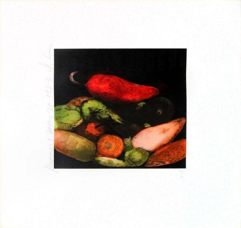 Donald Sultan, 'Peppers', 1989, Print, Serigraph, Kunzt Gallery
