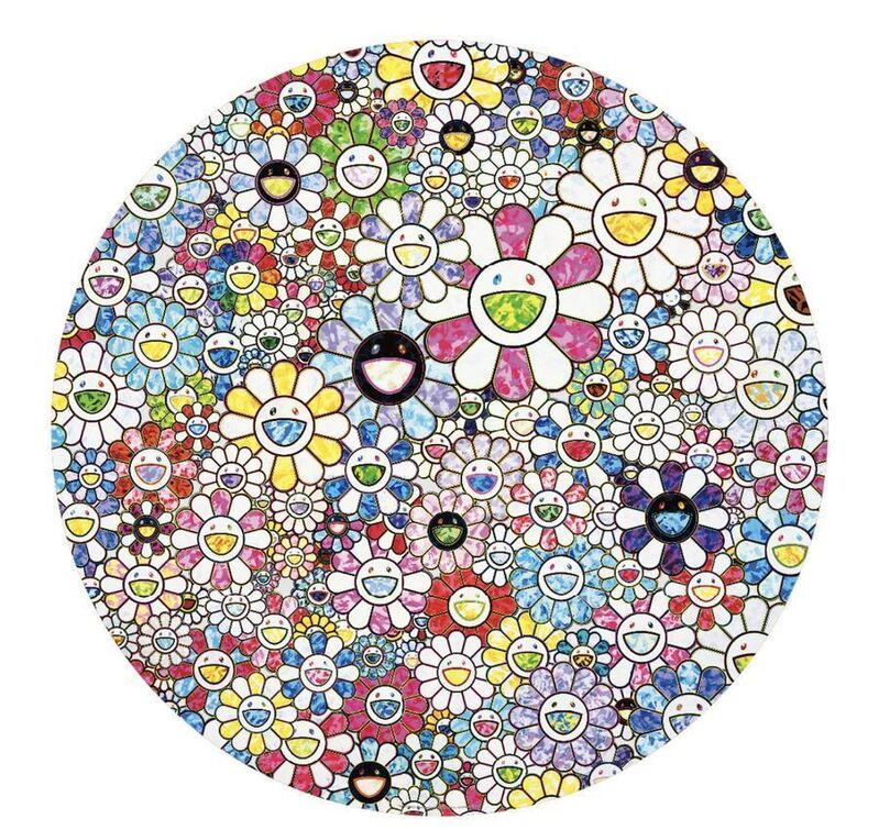 Takashi Murakami, 'Celestial Flowers', 2020, Print, Offset print with cold stamp, Lougher Contemporary